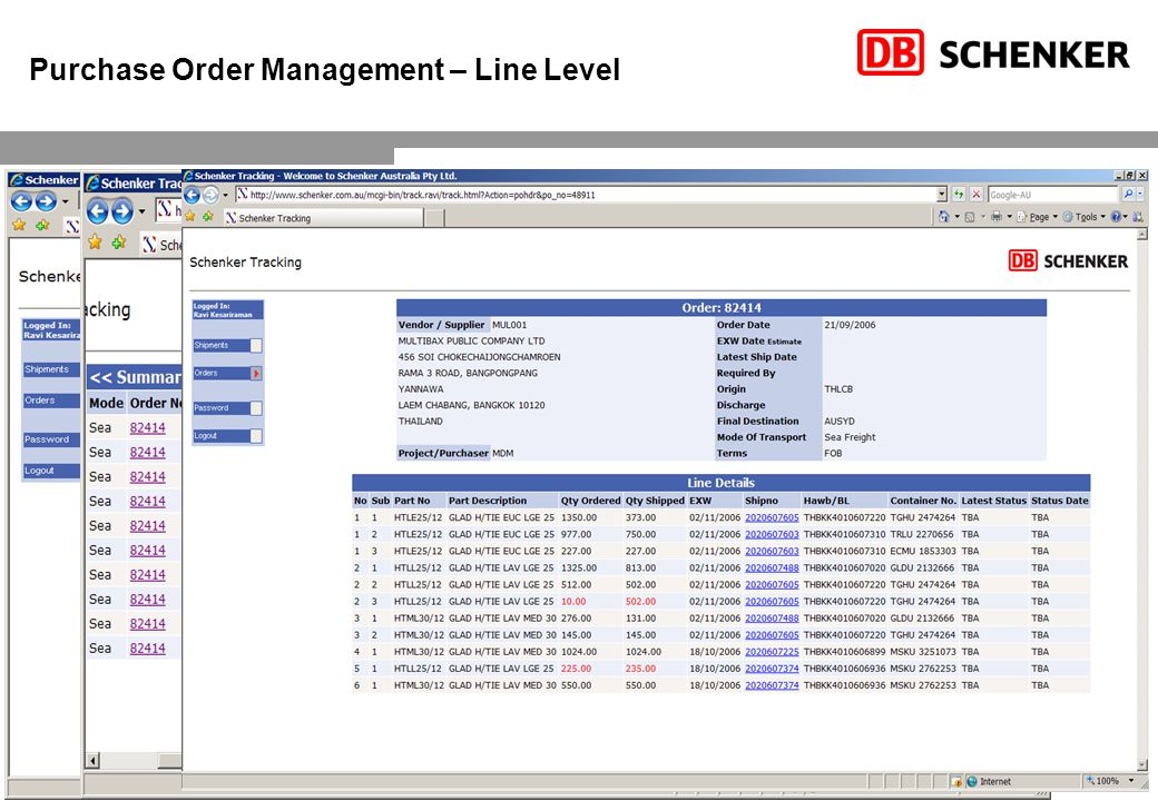 18 Purchase Order Management – Line Level