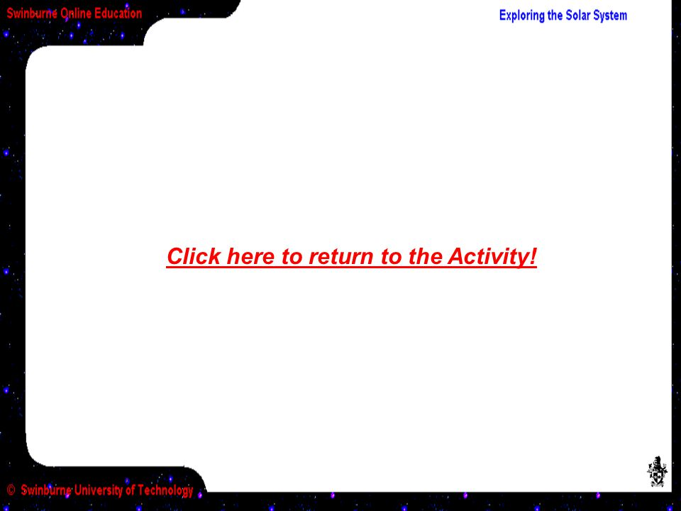 Click here to return to the Activity!