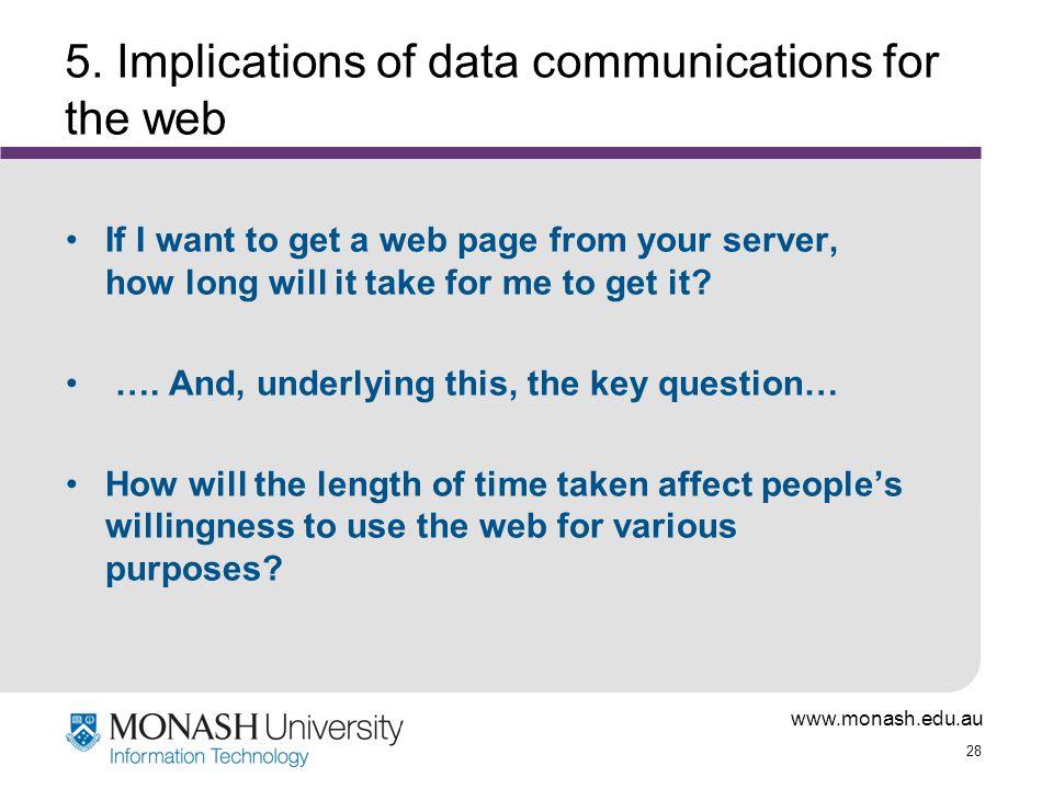 www.monash.edu.au 28 5.