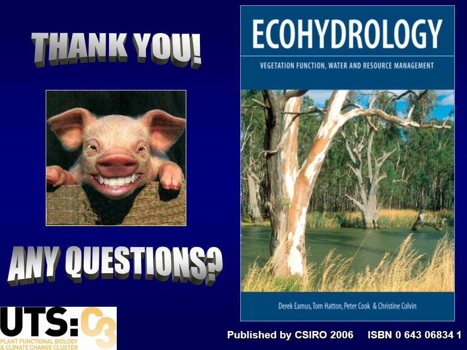 Published by CSIRO 2006 ISBN 0 643 06834 1