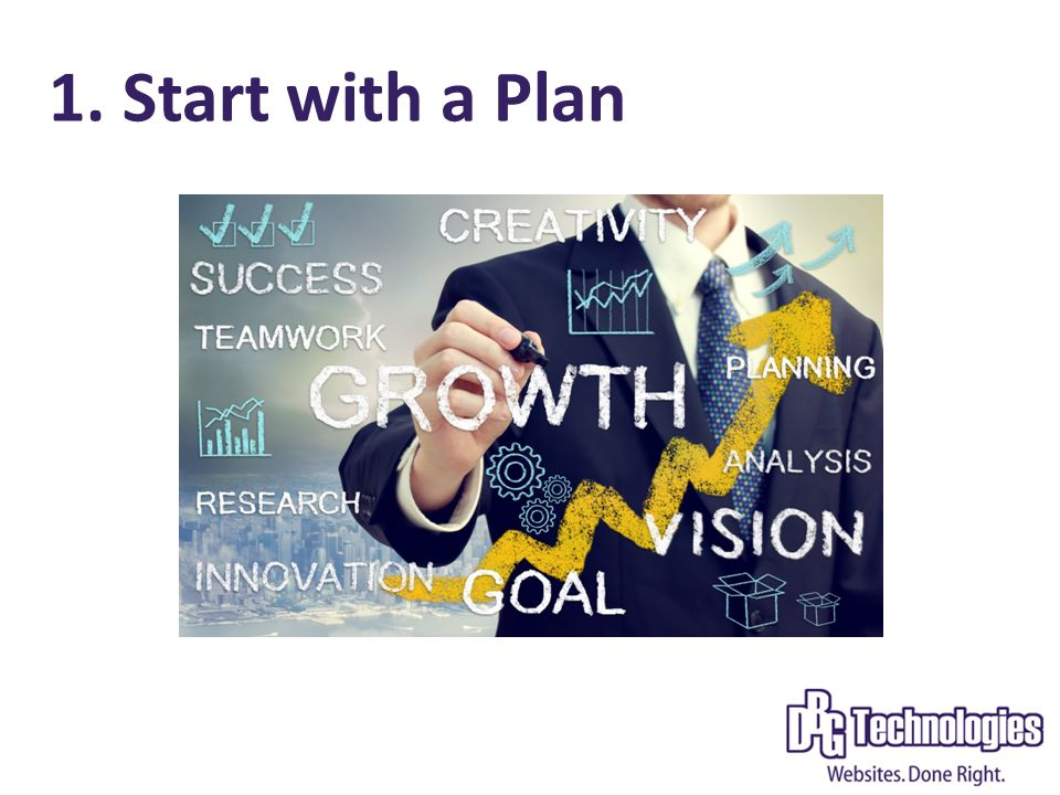 1. Start with a Plan