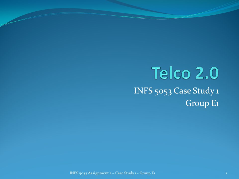 Introduction - Why Telco 2.0.We all need telecom services.