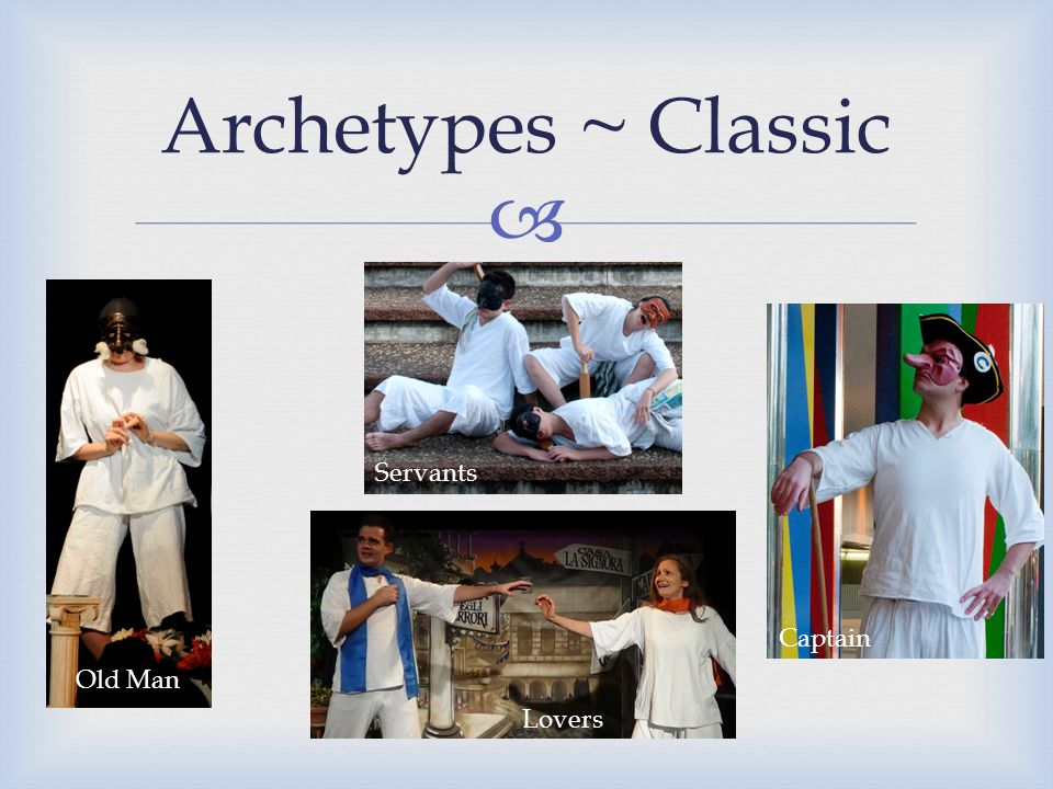  Archetypes ~ Classic Old Man Captain Lovers Servants
