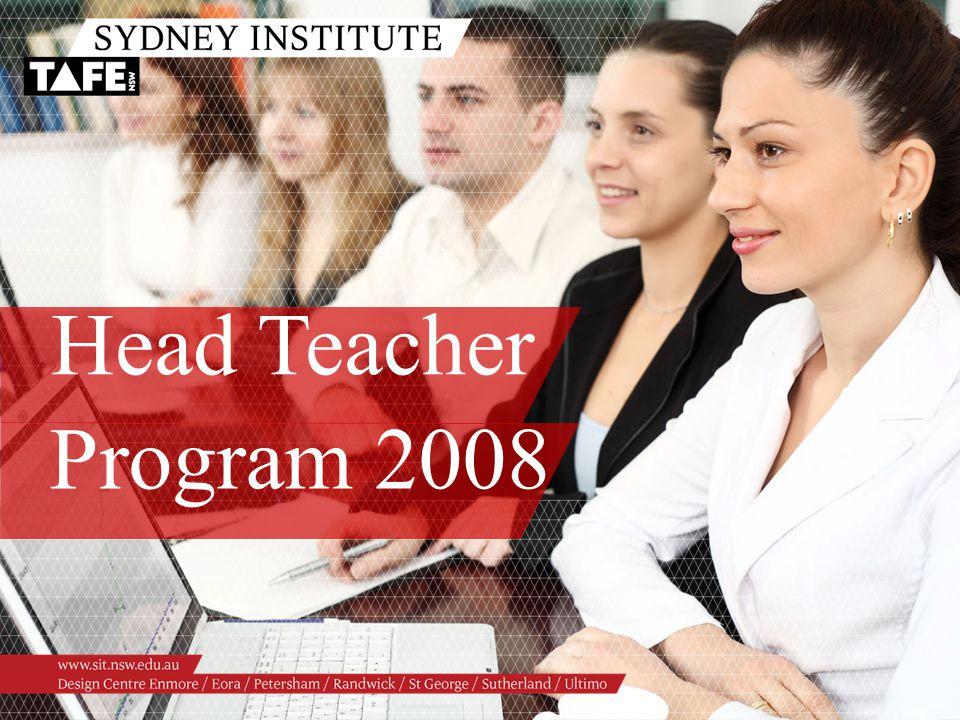 Head Teacher Program 2008