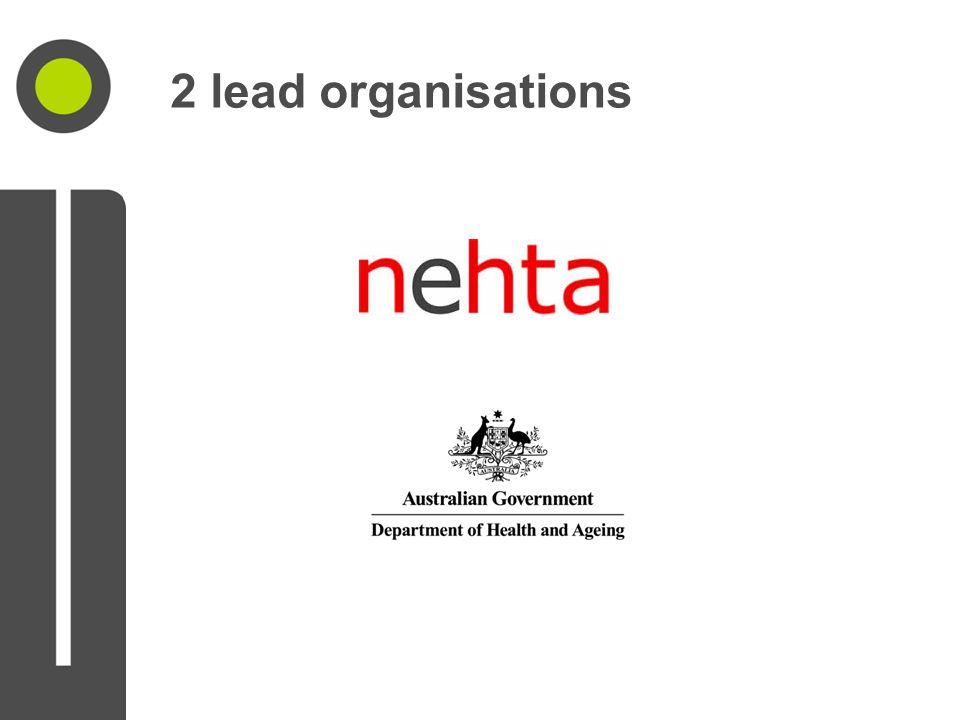 2 lead organisations