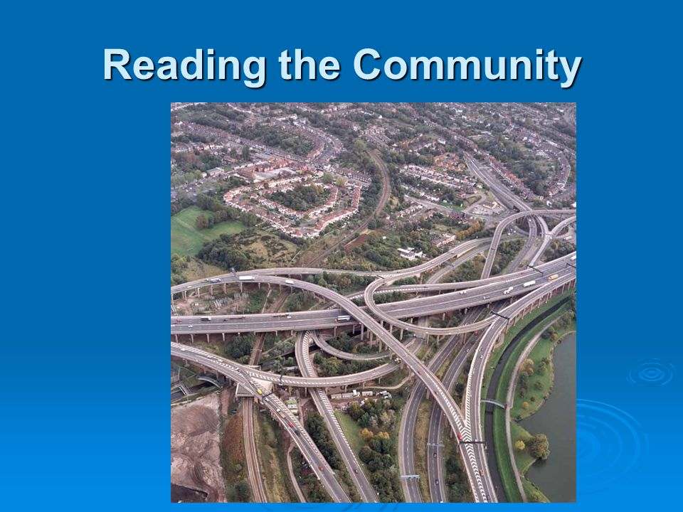 Reading the Community