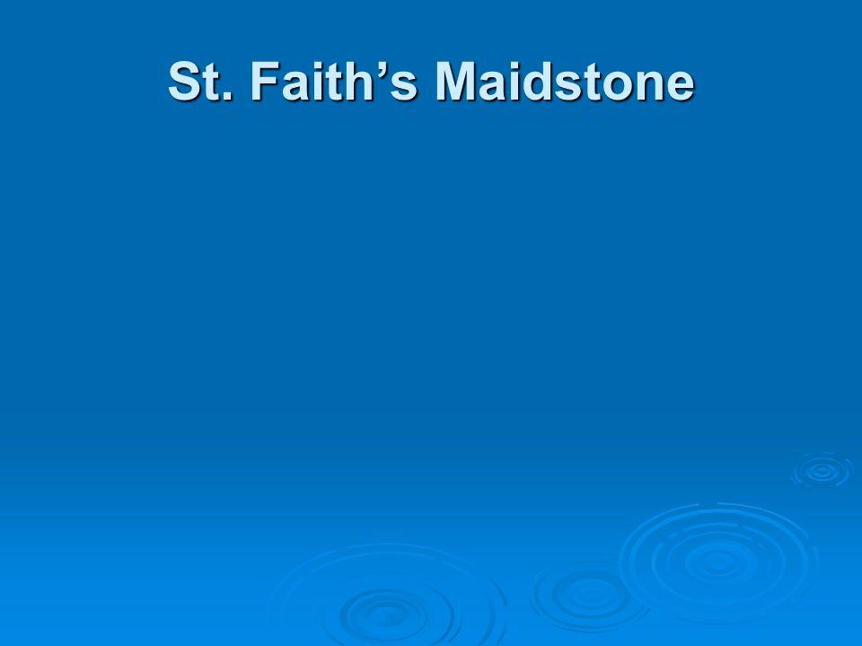 St. Faith's Maidstone