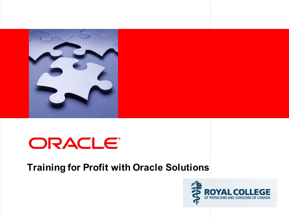 Training for Profit with Oracle Solutions