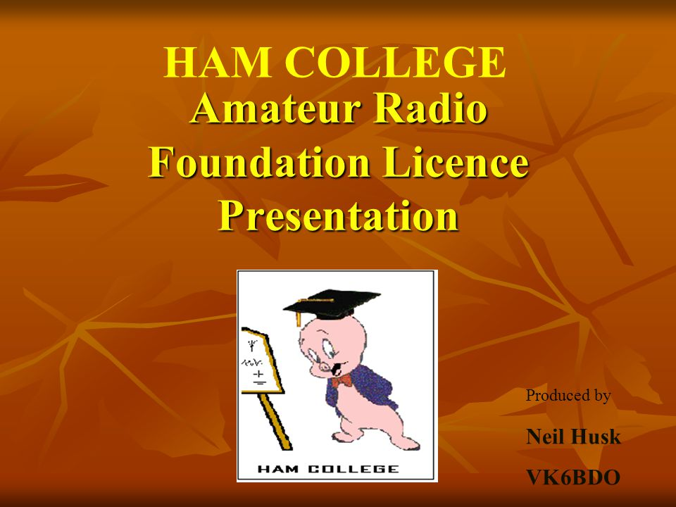 Radio Frequency Bands Amateurs generally operate in the HF, VHF and UHF bands.
