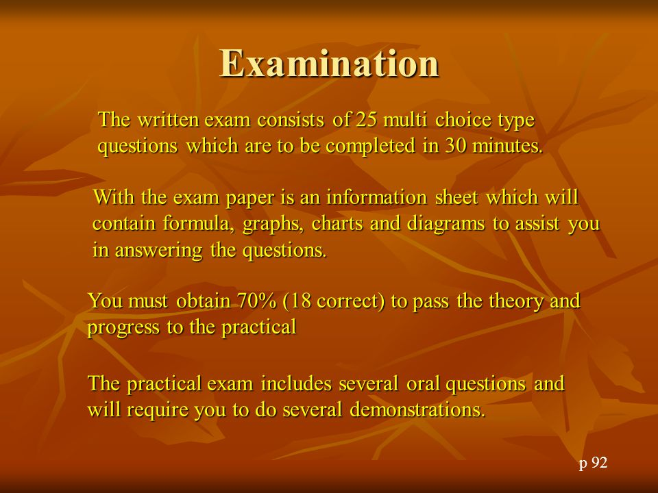 Question 5 All amateur transmissions must include: A.