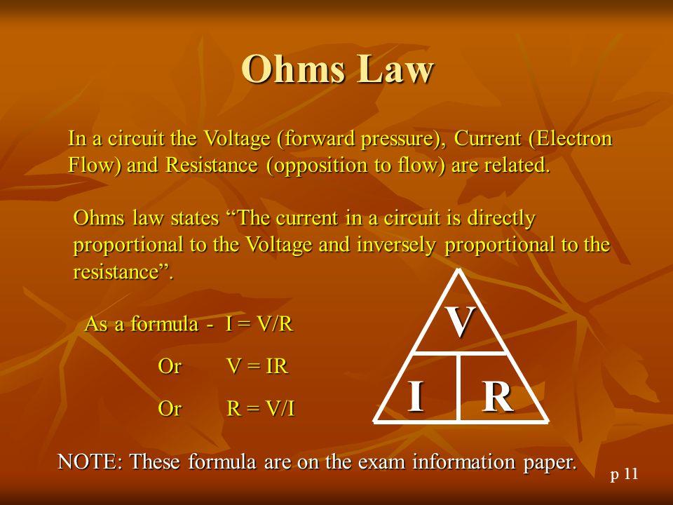 VERY URGENT--Ohms law?