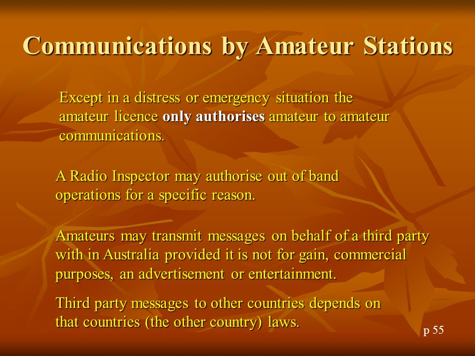 Distress Signals Distress communications are indicated by the use of the word 'Mayday'.