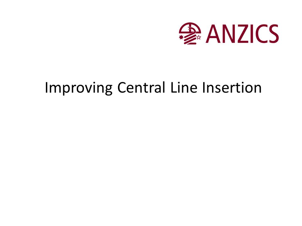 Improving Central Line Insertion