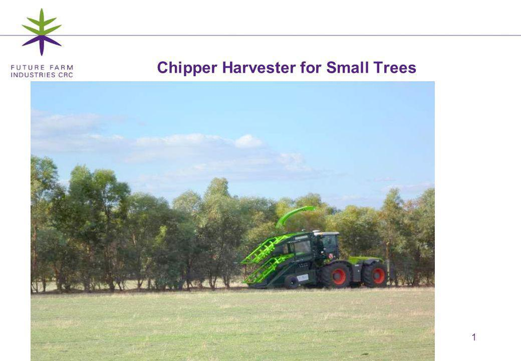 12 Flexible crop stems for horizontal feed Uses a chopper, not a chipper