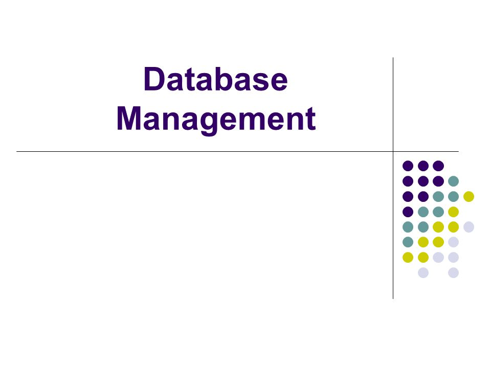 Isolated data—data stored in separate files so it is difficult to access File Processing Versus Databases What is a file processing system.