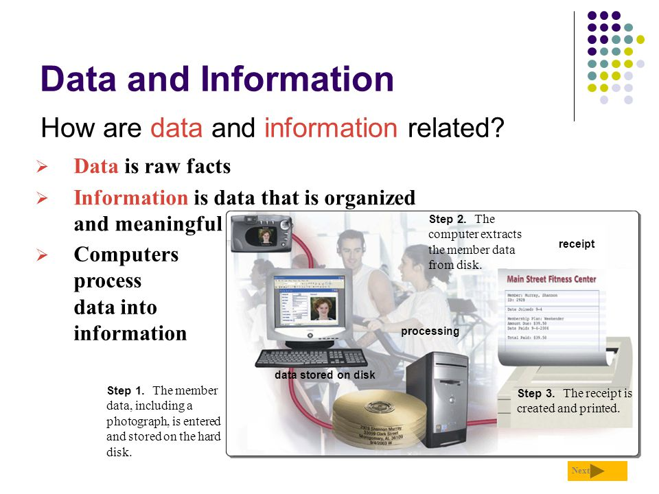 Data and Information What is data integrity.p.