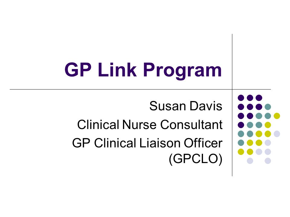 clinical liaison