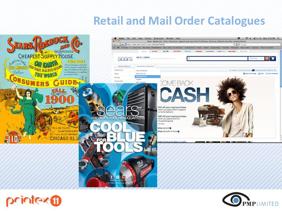 Retail and Mail Order Catalogues