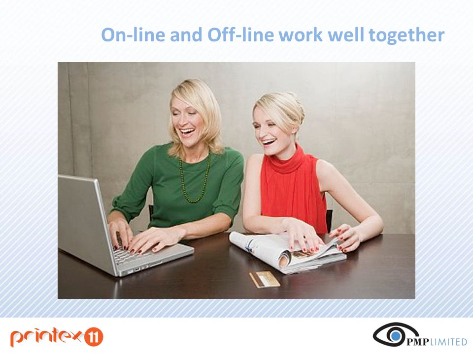 On-line and Off-line work well together