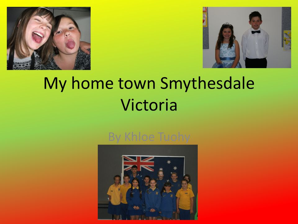 History of Smythesdale Smythesdale is a small town with a small population of 300 people located 19km from Ballarat, Victoria.