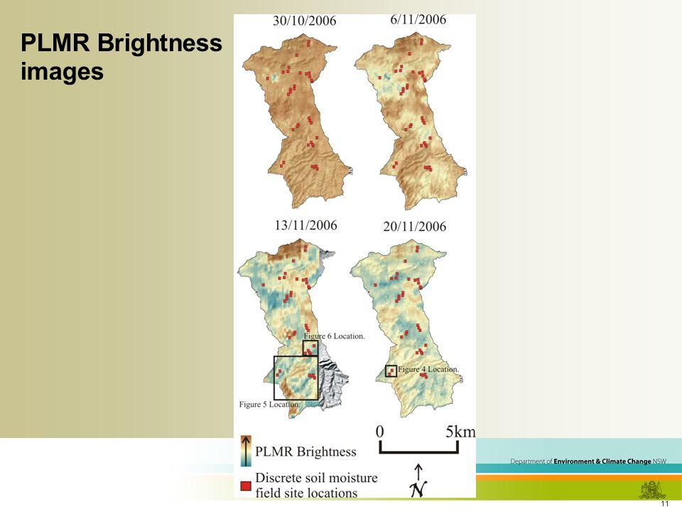 11 PLMR Brightness images
