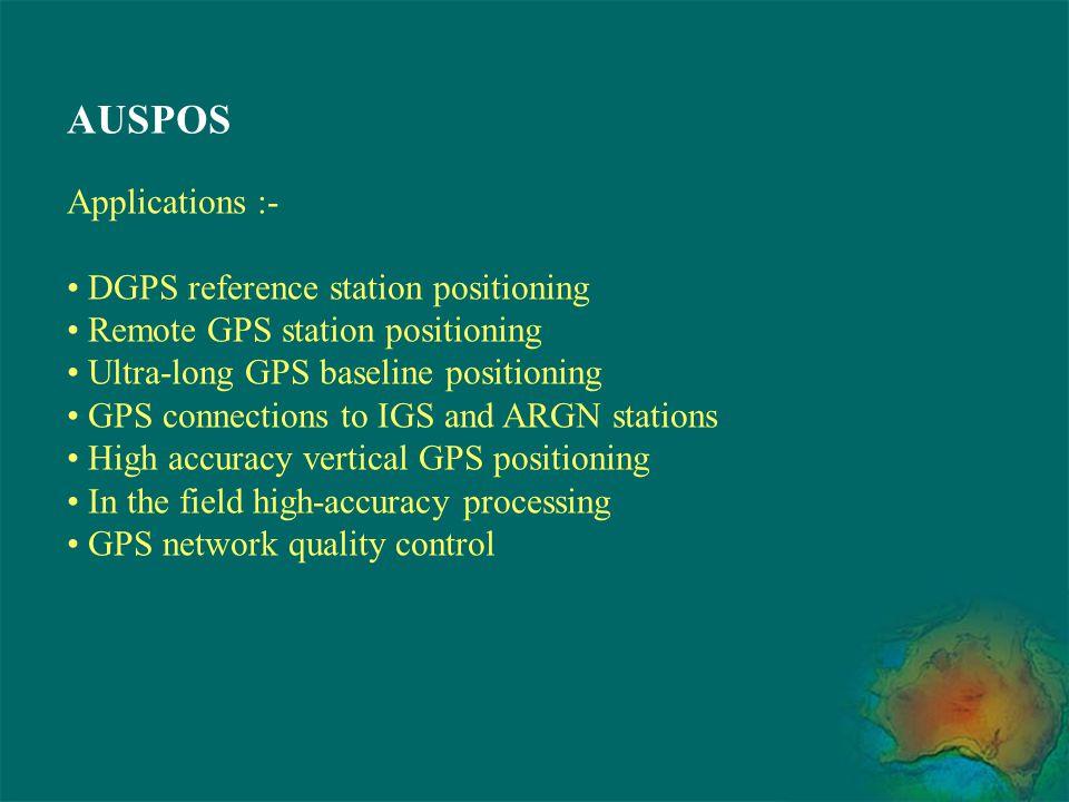 Geodetic GPS Errors and Modelling Issues Satellite Orbits Orbit error example :- Precise IGS orbit versus Broadcast orbit GPS Satellite 27, 1st January 2000 Radial Along trackCross track
