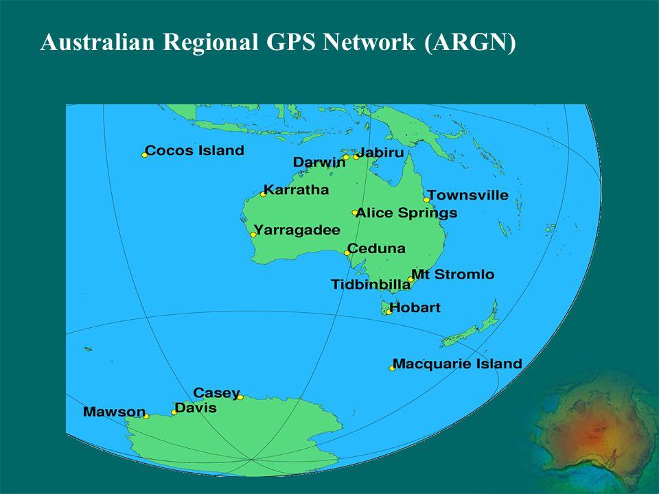 Australian Regional GPS Network (ARGN)