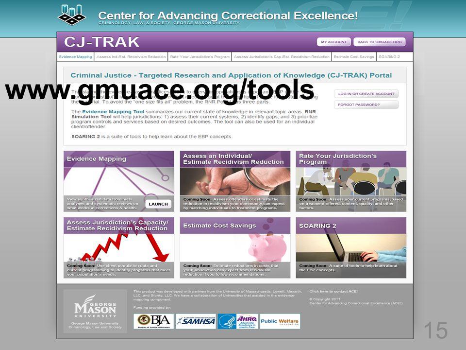 15 www.gmuace.org/tools