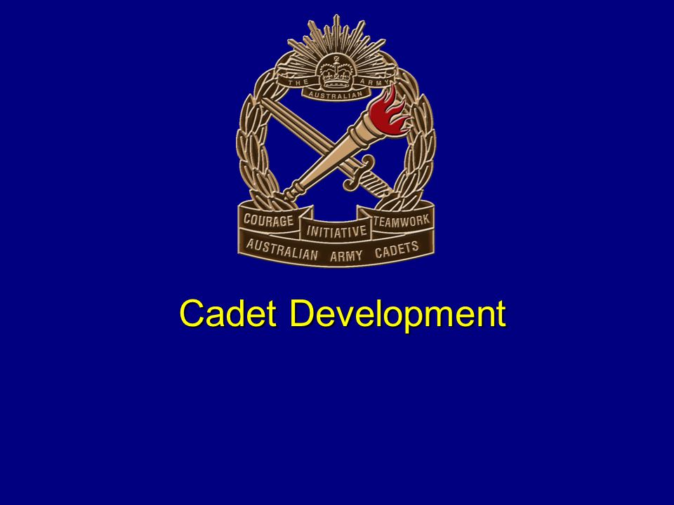 Cadet Development