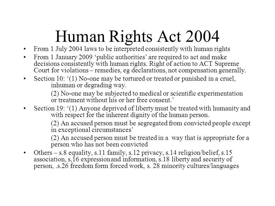HIV criminal transmission offences Stigmatises alienated groups, eg MSM, sex workers, injecting drug users.