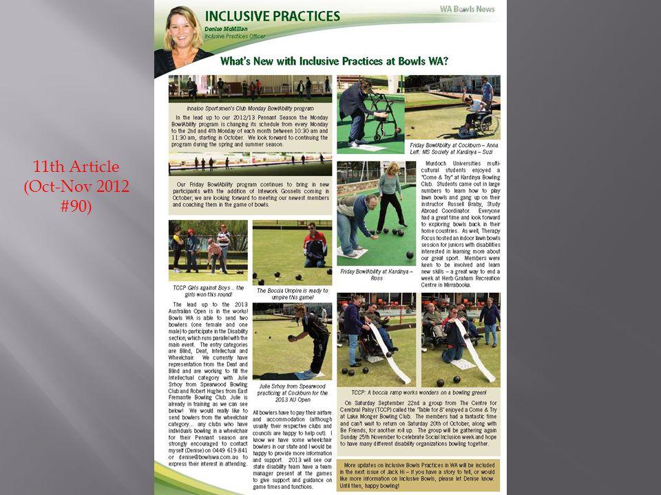 11th Article (Oct-Nov 2012 #90)