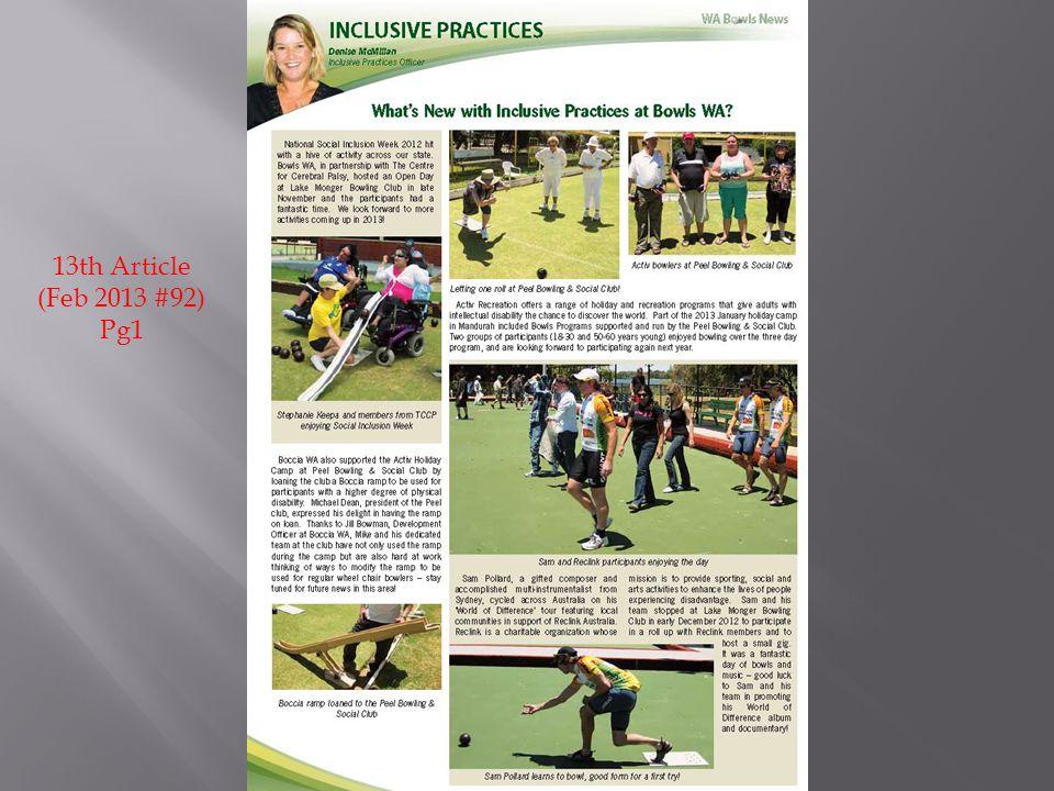 13th Article (Feb 2013 #92) Pg1