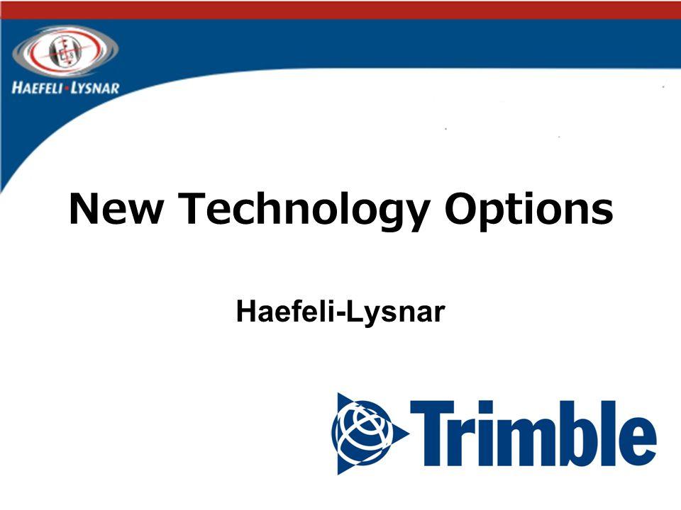 New Technology Options Haefeli-Lysnar