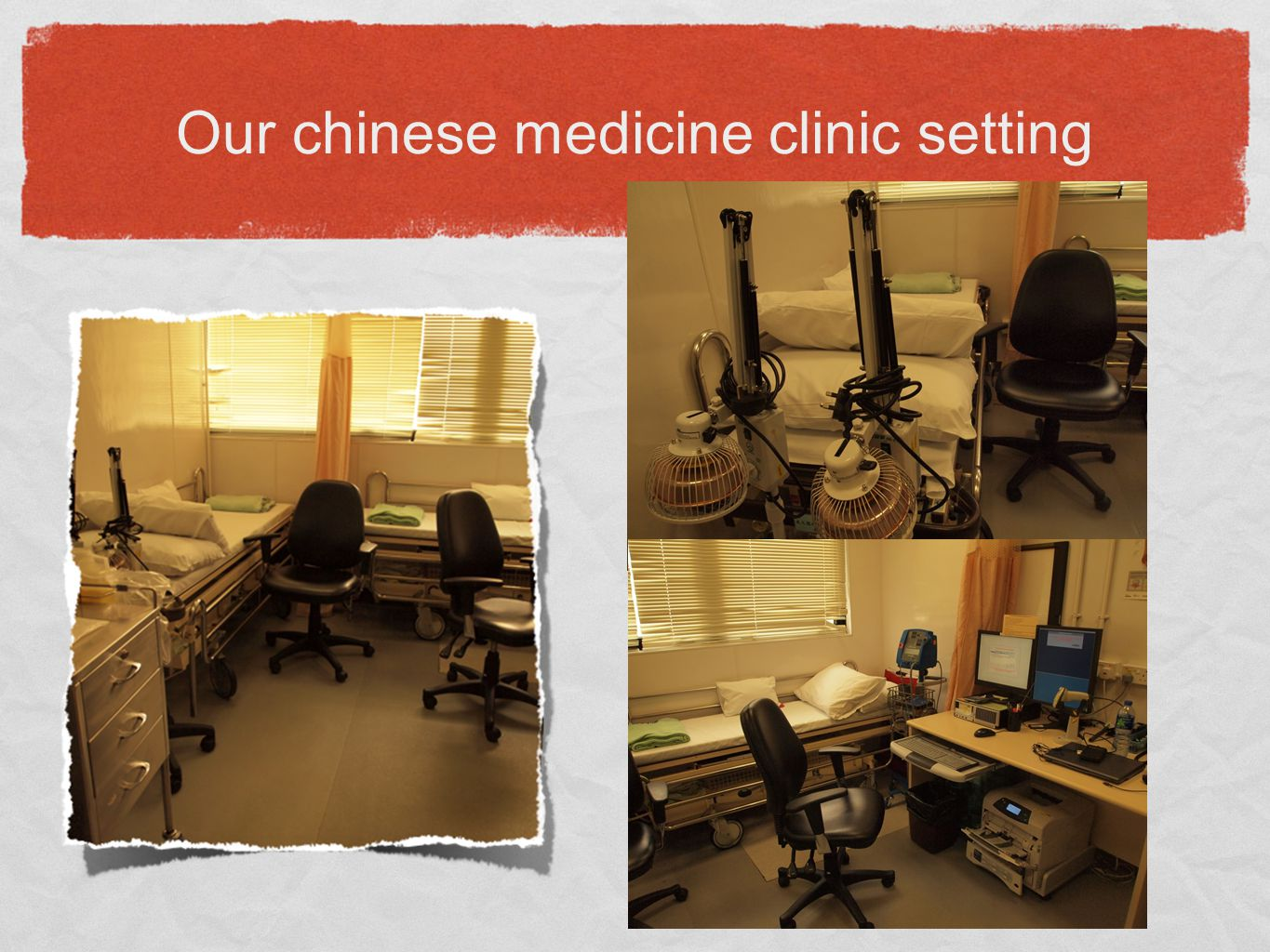 Our chinese medicine clinic setting