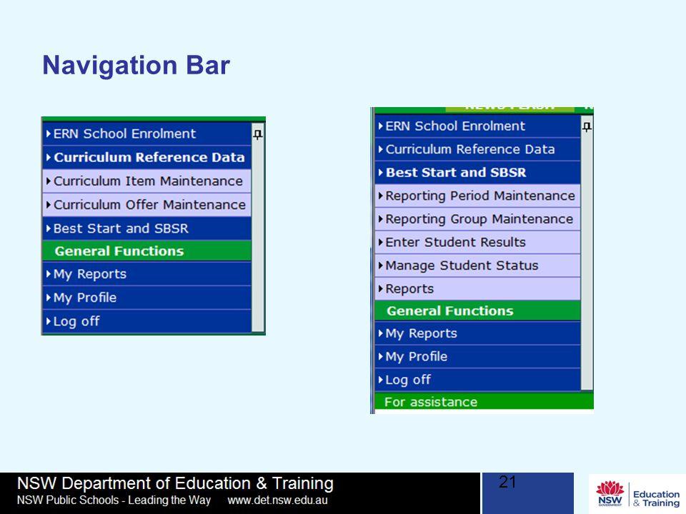 21 Navigation Bar