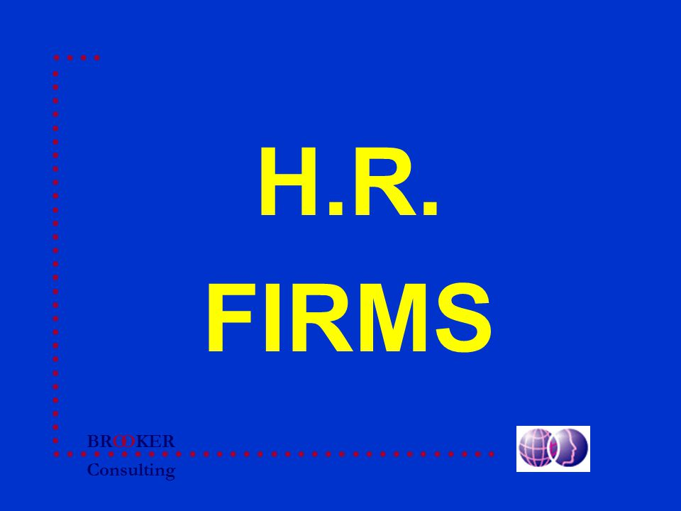 BRO Consulting OKER H.R. FIRMS