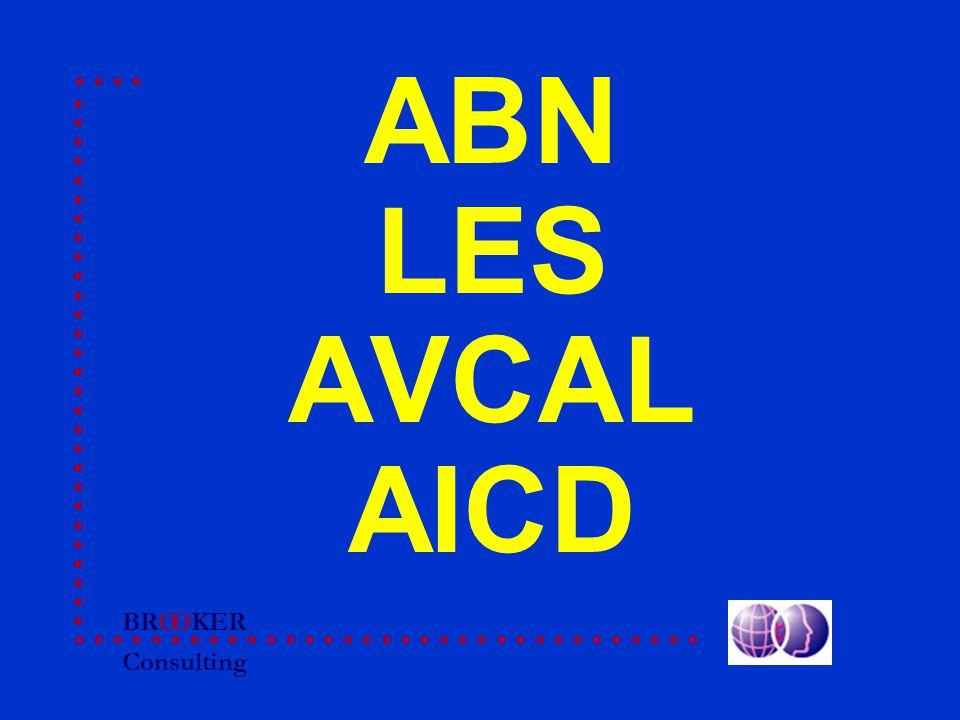 BRO Consulting OKER ABN LES AVCAL AICD