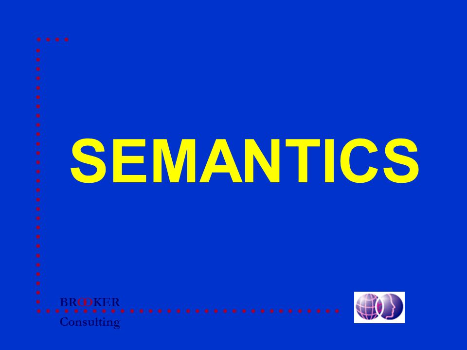 BRO Consulting OKER SEMANTICS
