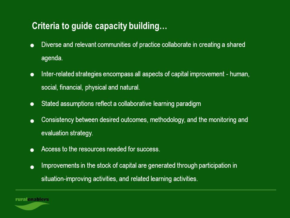 Slide: 43 Diverse and relevant communities of practice collaborate in creating a shared agenda.