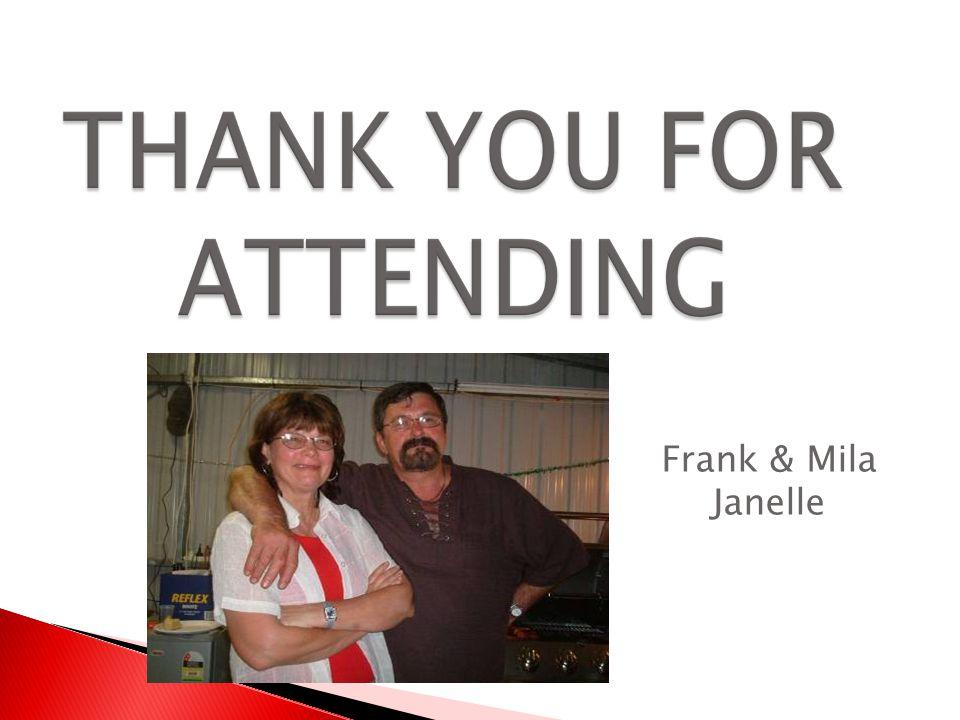Frank & Mila Janelle
