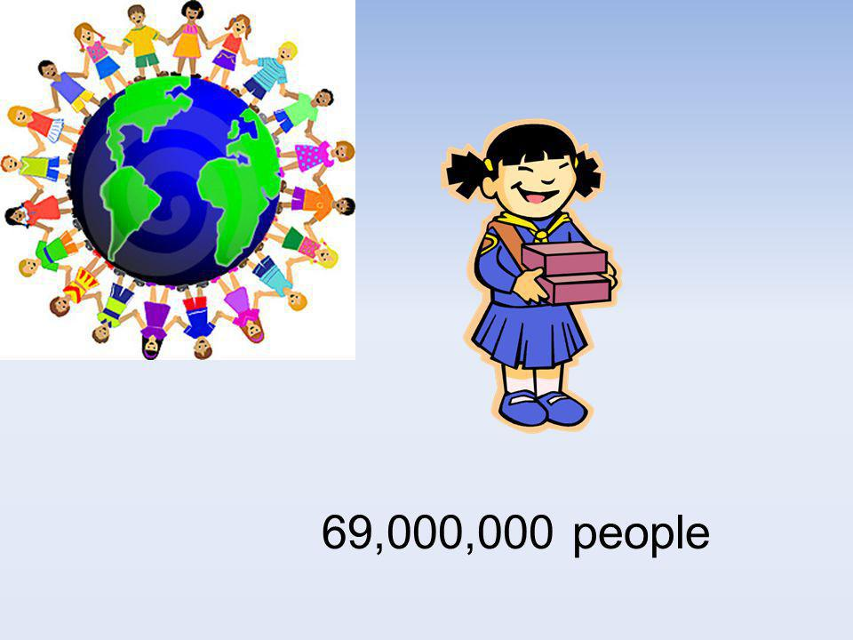 69,000,000 people