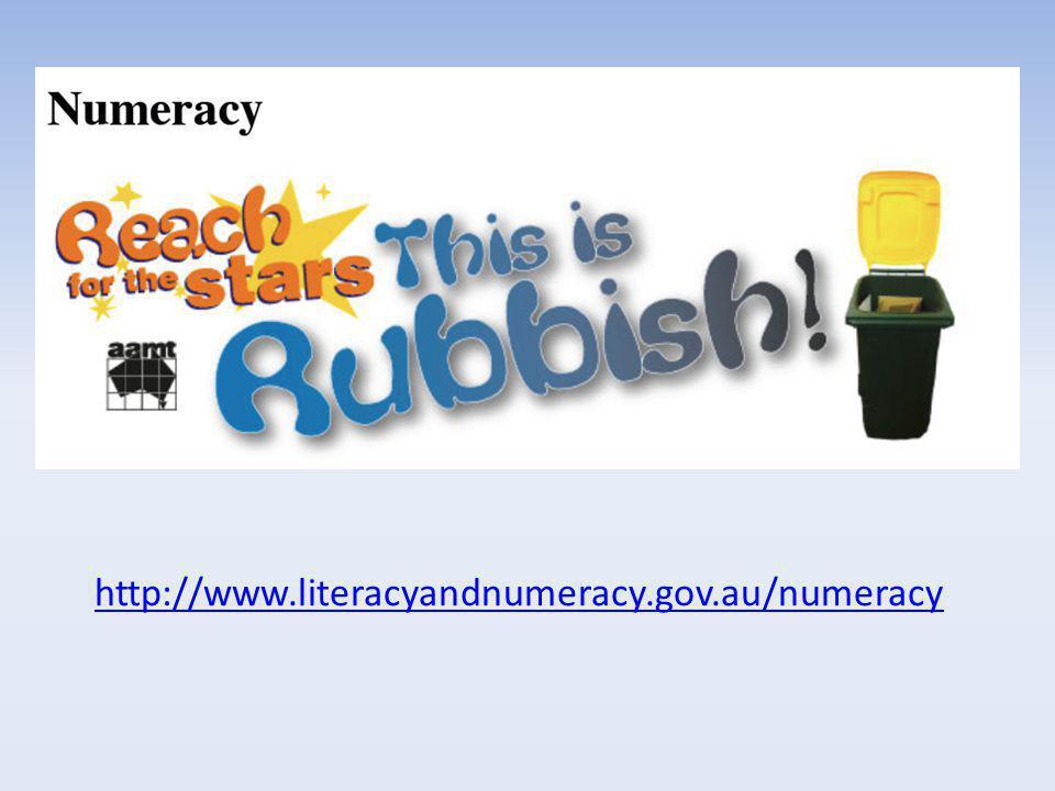 http://www.literacyandnumeracy.gov.au/numeracy