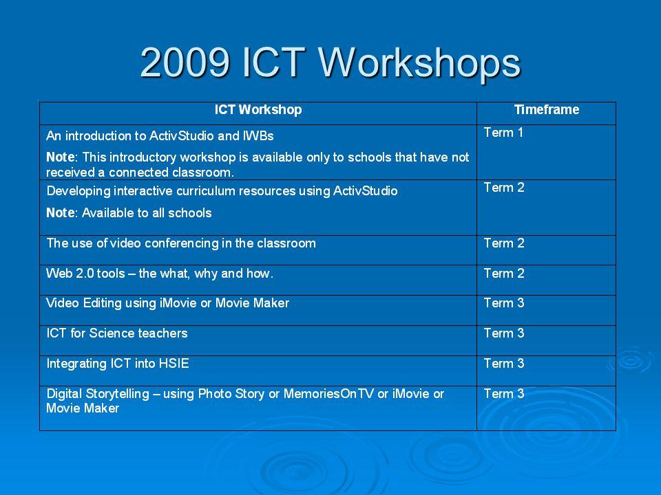 2009 ICT Workshops