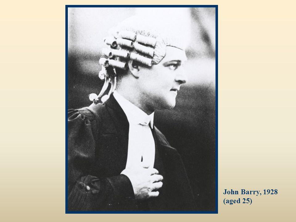 John Barry, 1928 (aged 25)