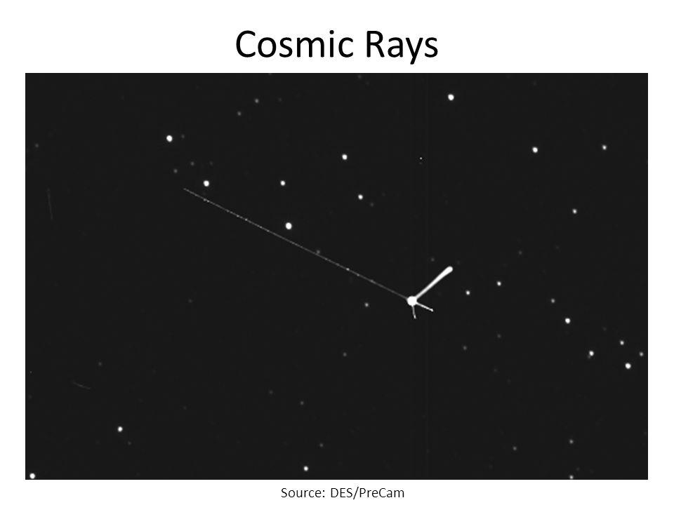 Cosmic Rays Source: DES/PreCam