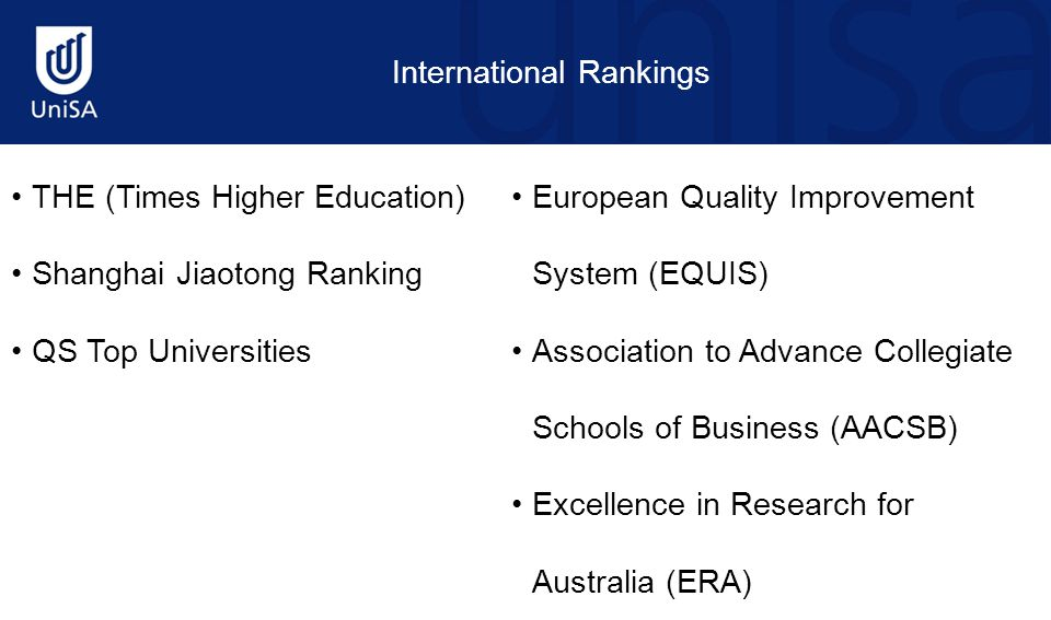 Problems With Rankings London School of Economics: regularly in the top 20 Business School league tables  SJTU: 201-300  THES: 86 University of Hong Kong  SJTU: 201-300  THES: 21