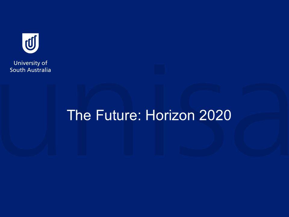 The Future: Horizon 2020