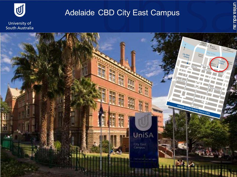 Adelaide CBD City East Campus unisa.edu.au