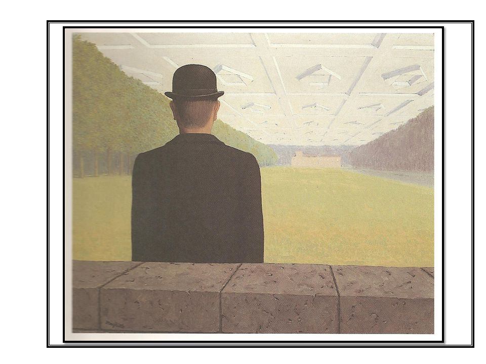 Everything we see hides another thing, we always want to see what is hidden by what we see. - Rene Magritte The Great War 1964