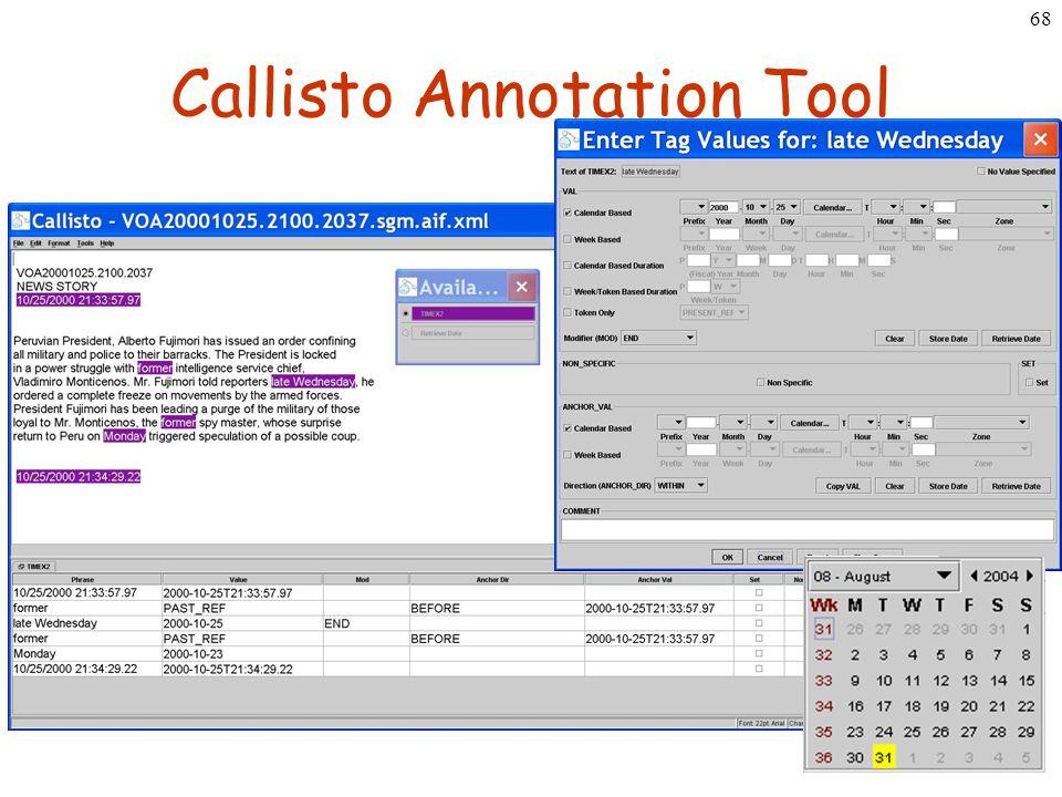 68 Callisto Annotation Tool